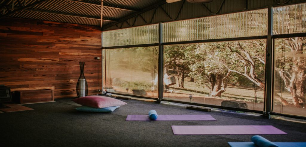 Open shed/ yoga room