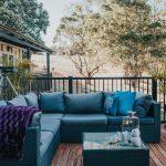 Nannup cottages deck